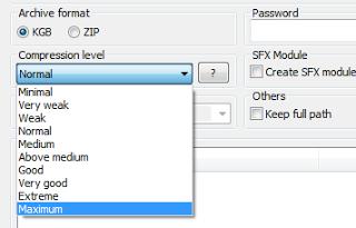 Kgb Archiver [ Compressed Game Maker Tool ] Download Here